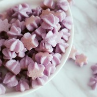 无糖紫薯溶豆
