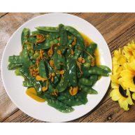 虫草花炒荷兰豆