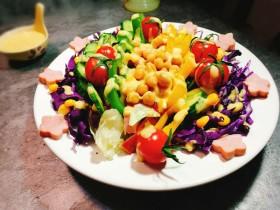 糖尿病菜谱~鹰嘴豆蔬菜沙拉