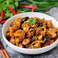 鲜蘑菇爆炒鸡块 鲜美蘑菇与香浓鸡肉的激情碰撞