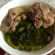 蜜枣西洋菜猪骨汤