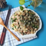 #宝宝辅食#海鲜菇盖饭