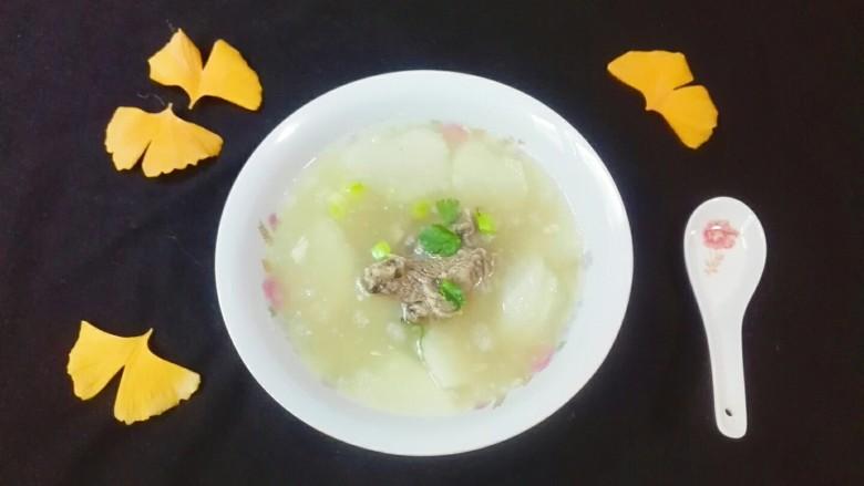 羊油飘香羊排汤姐妹篇~白萝卜粉丝羊排汤