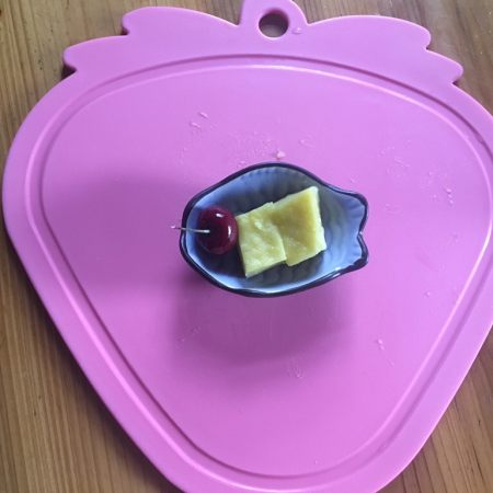 宝宝辅食—南瓜小米糕