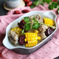 排骨白蘿卜玉米煲湯