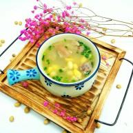 厨房挑战+荤菜+猪蹄黄豆汤