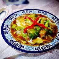 美味素菜之蚝油生菜
