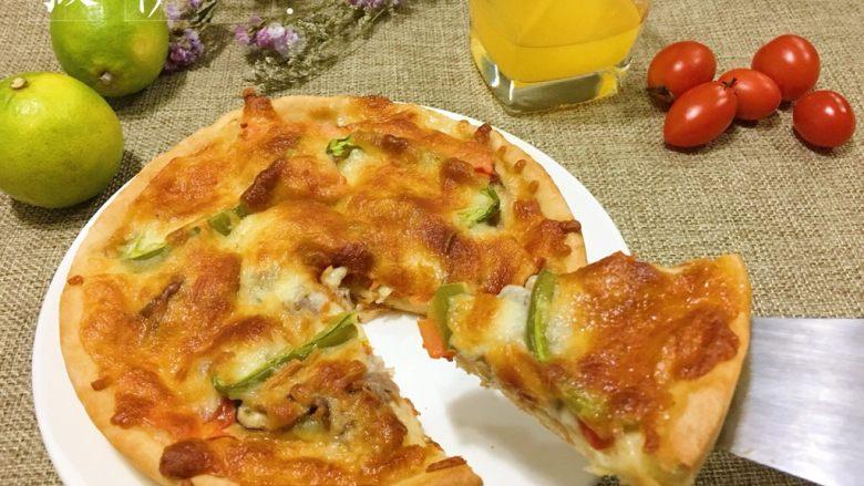 蔬菜牛肉披萨