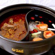 什錦海鮮羊蝎子鴛鴦火鍋