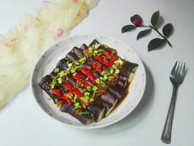 微波炉美食+万紫千红总是春姐妹篇~青葱红椒紫茄条
