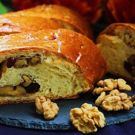 无水果仁面包