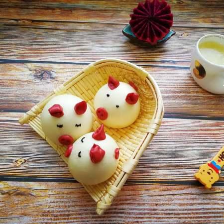 萌萌哒-小猪豆沙包