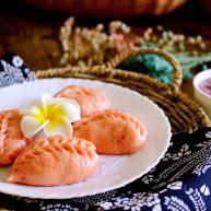 韭菜海虹发面包&紫薯二米粥