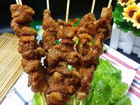 #微波炉美食#奥尔良孜然羊肉串