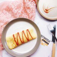 美味早餐之日式蛋包饭