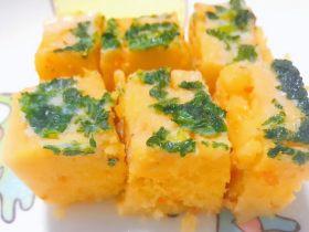 黄金芝士鳕鱼糕