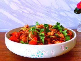 胡蘿卜干鍋雞