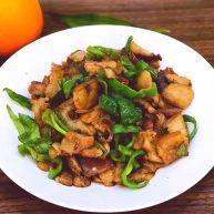 下饭菜之青椒炒肉片