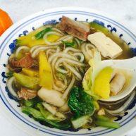 羊杂蔬菜汤