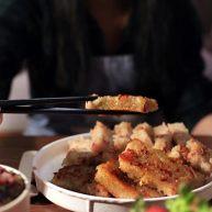 廣式茶點-香煎蘿卜糕