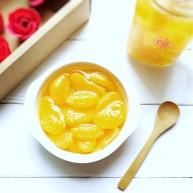 自制糖水桔子罐头