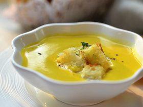 奶油浓金汤💮香蒜吐司