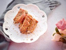 不一樣的烤味—蜜汁蒜蓉烤肋排
