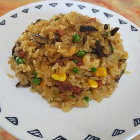 真正的生炒腊味糯米饭