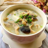 清炖土鸡猪肚汤