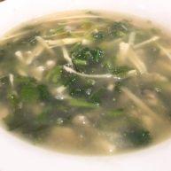 雪菜笋丝牡蛎汤