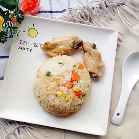 电饭锅+鸡中翅焖饭