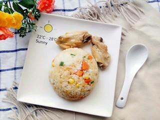 电饭锅+鸡中翅焖饭,开动咯