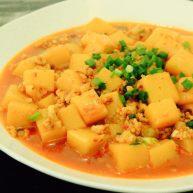 肉末米豆腐