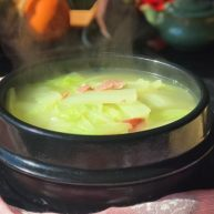 鱼露火腿白菜