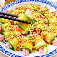 给黄瓜换个吃法➕蒜蓉白萝卜火腿黄瓜卷