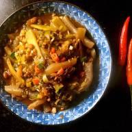 酸菜莴笋魔芋丝