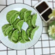 翡翠猪肉白菜饺子