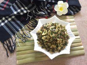 咸菜炒冬笋