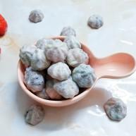 鲜草莓,蓝莓溶豆