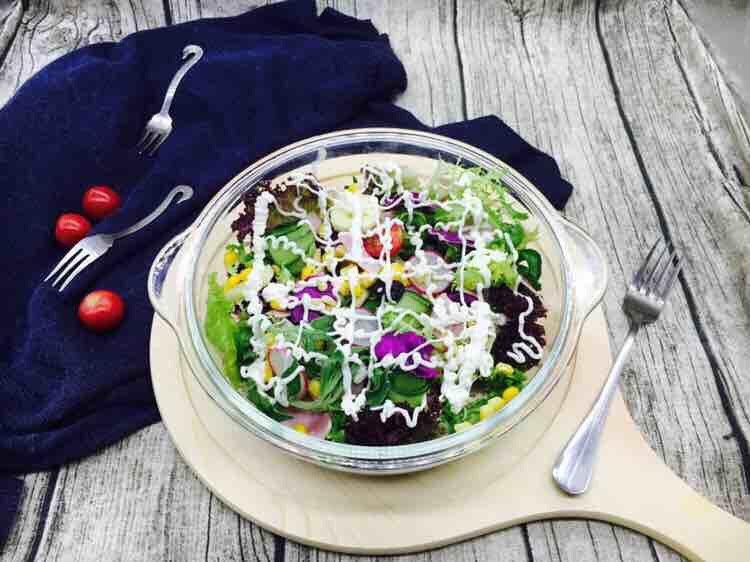 平衡体热 清热解腻 缤纷蔬菜水果沙拉