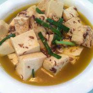 麻虾酱烧豆腐