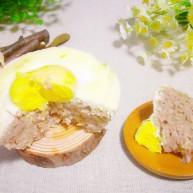肉糕(午餐肉蒸蛋)