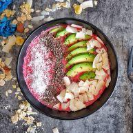 低脂代餐,健康减肥—甜菜根燕麦酸奶