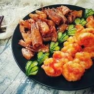 一虾两吃――《外科风云》同款:香酥虾壳&茄汁虾球