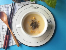 牡蛎面香豆粥