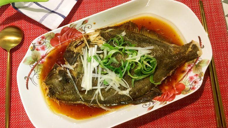 蒸系列★清蒸鲽鱼「经典粤式蒸法」