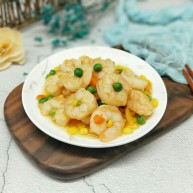#春节家宴#色彩斑斓的清炒虾仁