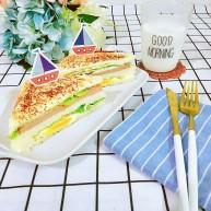 港式餐蛋三明治