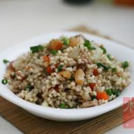 干贝腊味焖高粱米饭