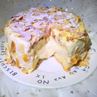 爆浆海盐奶酪奶盖蛋糕